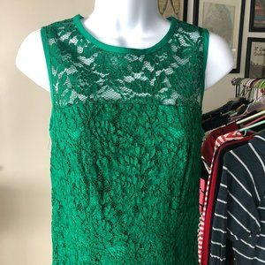 The Limited // Kelly Green Special Occasion Dress